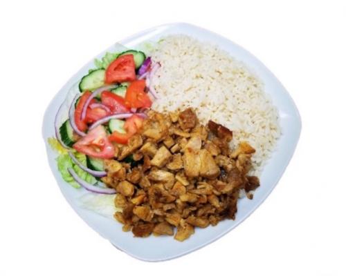 Montfort Grimsby - Chicken Shawarma Dish