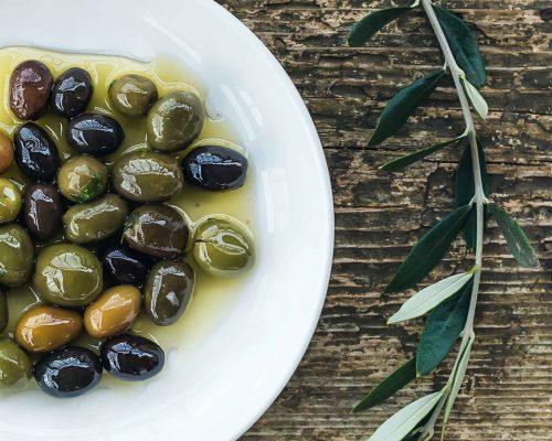 Montfort Oakville Mediterranean Cuisine - olive oil